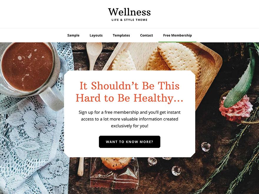 Wellness Pro Theme